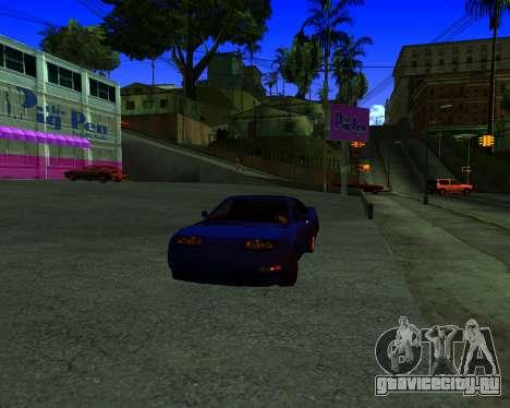 Warm California ENB для GTA San Andreas второй скриншот