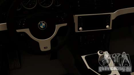 BMW 540 E39 Accuair для GTA San Andreas вид справа