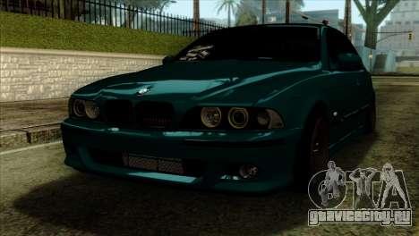 BMW 540 E39 Accuair для GTA San Andreas