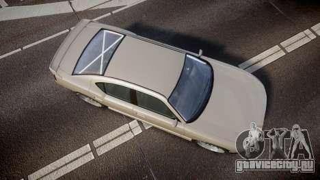 Bravado Buffalo Supercharged 2015 для GTA 4 вид справа