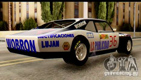 Chevrolet Series 2 Turismo Carretera Mouras для GTA San Andreas вид слева