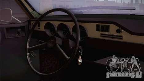 Dacia 1300 Biharia для GTA San Andreas вид справа
