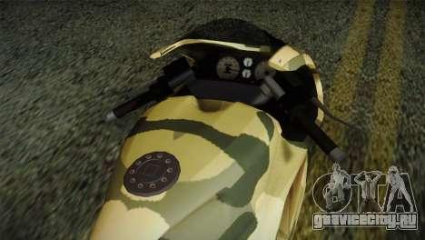 GTA 5 Bati Green для GTA San Andreas вид справа