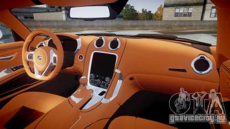 Dodge Viper SRT 2013 rims3 для GTA 4 вид сзади