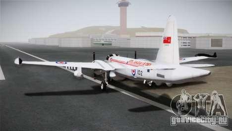 P2V-7 Lockheed Neptune JMSDF для GTA San Andreas вид слева