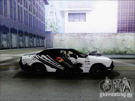 Dodge Challenger SRT8 Hemi Drag Tuning для GTA San Andreas вид слева