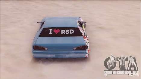 RSD Elegy для GTA San Andreas вид сзади слева