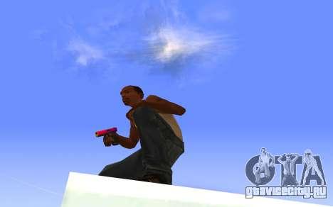 Glock-18 градиент CS:GO для GTA San Andreas третий скриншот