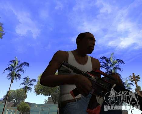 M4A1-S Syrex CS:GO для GTA San Andreas третий скриншот