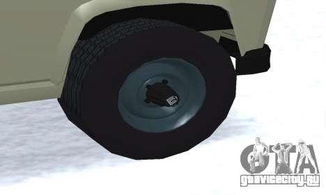 Aro 244 для GTA San Andreas вид изнутри