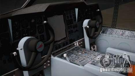 P2V-7 Lockheed Neptune JMSDF для GTA San Andreas вид сзади