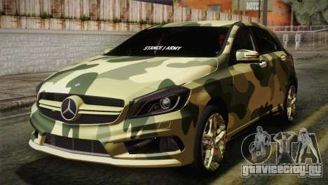 Mercedes-Benz A45 AMG Camo Edition для GTA San Andreas
