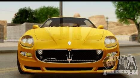 Maserati Gransport 2006 для GTA San Andreas вид сбоку