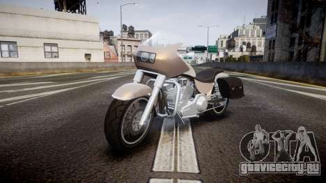 GTA V Western Motorcycle Company Bagger для GTA 4