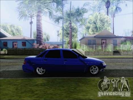 Ваз 2110 БПАN Кемерово для GTA San Andreas вид слева