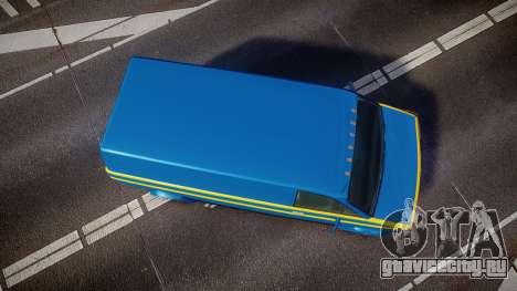 GTA V Declasse Burrito [Update] для GTA 4 вид справа