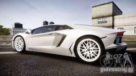 Lamborghini Aventador Hamann Limited 2014 [EPM] для GTA 4 вид слева
