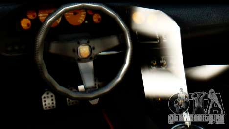GTA 5 Pegassi Zentorno v2 IVF для GTA San Andreas вид сзади