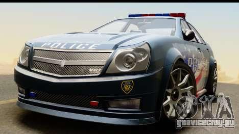 EFLC TBoGT Albany Police Stinger IVF для GTA San Andreas вид справа