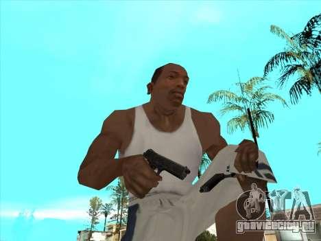 Русские пистолеты-пулемёты для GTA San Andreas девятый скриншот