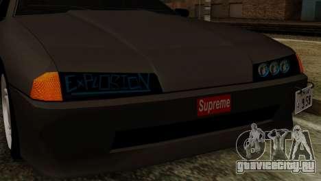 Elegy для GTA San Andreas вид справа