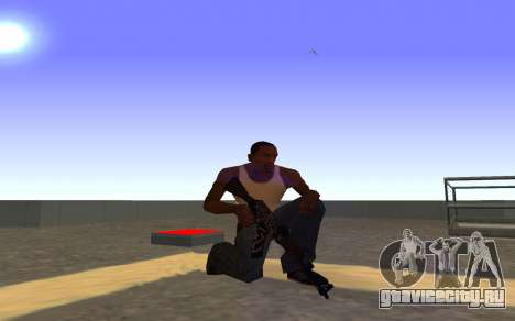 AK-47 Пустынный повстанец CS:GO для GTA San Andreas