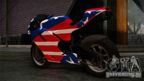 GTA 5 Bati American для GTA San Andreas вид слева