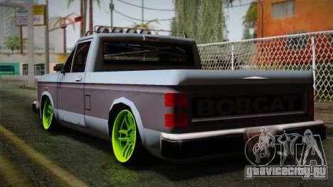 Camber Bobcat Editon для GTA San Andreas вид слева