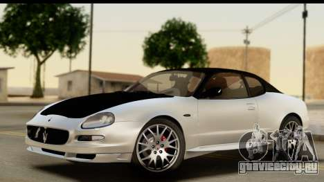 Maserati Gransport 2006 для GTA San Andreas салон