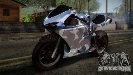GTA 5 Bati Blue для GTA San Andreas