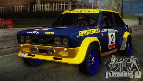 Fiat Abarth Sport Edition для GTA San Andreas