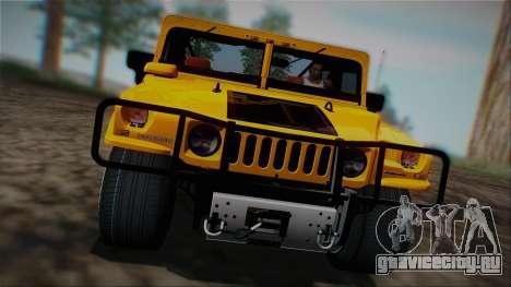 Hummer H1 Alpha OpenTop 2006 Stock для GTA San Andreas
