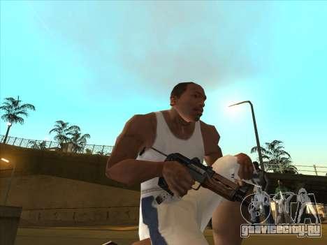 Русские пистолеты-пулемёты для GTA San Andreas