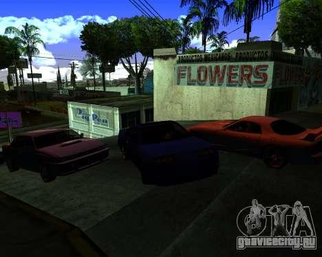 Warm California ENB для GTA San Andreas третий скриншот