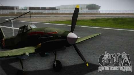 ИЛ-10 Polish Navy для GTA San Andreas вид сзади