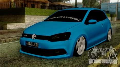 Volkswagen Polo GTI 2014 для GTA San Andreas