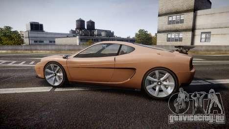 Grotti Turismo GT Carbon для GTA 4 вид слева