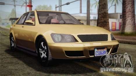 GTA 5 Karin Sultan для GTA San Andreas