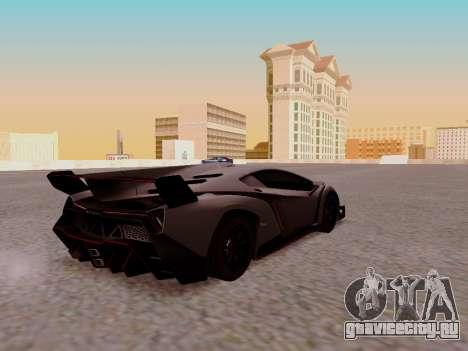 Lamborghini Veneno для GTA San Andreas вид справа