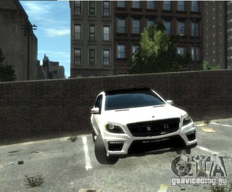 Mercedes-Benz GL500 2014 для GTA 4 вид слева
