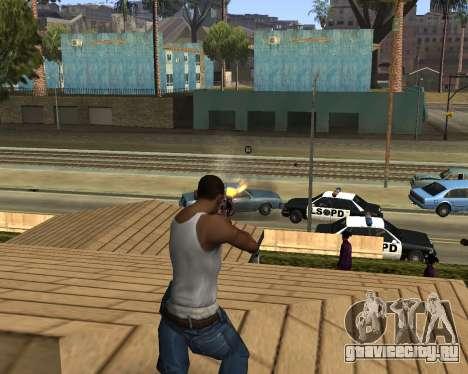 M4A1-S Syrex CS:GO для GTA San Andreas четвёртый скриншот
