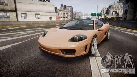 Grotti Turismo GT Carbon для GTA 4