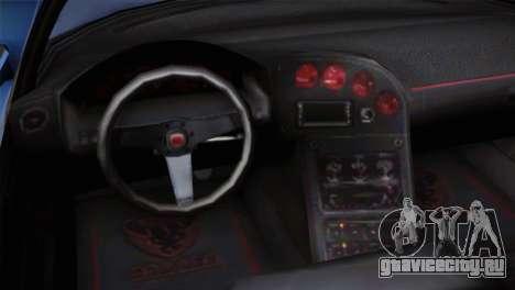 GTA 5 Bravado Banshee для GTA San Andreas вид справа