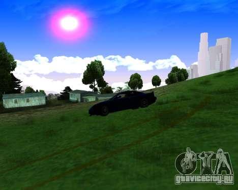 Warm California ENB для GTA San Andreas пятый скриншот