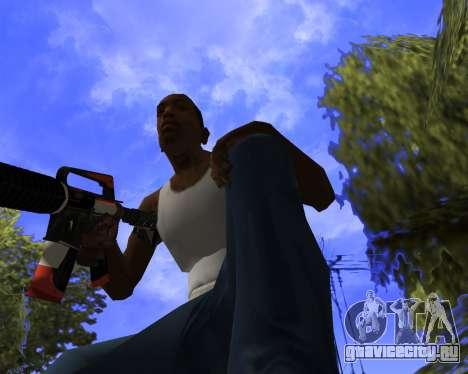 M4A1-S Syrex CS:GO для GTA San Andreas пятый скриншот