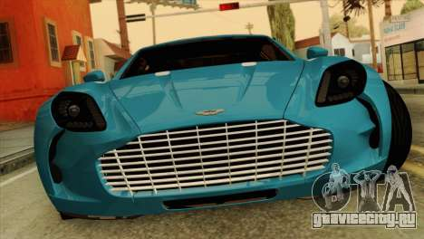 Aston Martin One 77 2010 для GTA San Andreas
