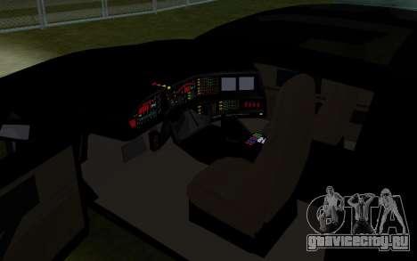 K.i.T.T. 2000 для GTA San Andreas вид сзади