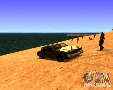 ENB v3.0.0 для слабых PC для GTA San Andreas третий скриншот
