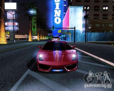 ENB plus для GTA San Andreas второй скриншот