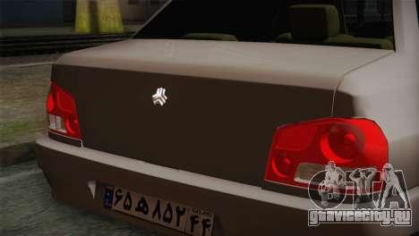 SAIPA 132 для GTA San Andreas вид сзади